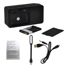 VeFly Mini Portable smart Bluetooth Speaker, Wireless Speakers FM Audio radio mode music Player column with TF Card usb drive