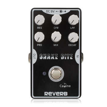 High Quality Caline CP-26 reverb snake bite Guitar Pedal True Bypass Design Pedal Excellent Guitar Accessories - DISCOUNT ITEM  24% OFF All Category