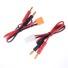 20cm font b RC b font Connector Cable 4mm Banana To XT60 T Plug Tamiya Plug