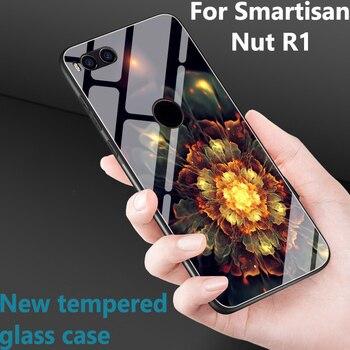 Перейти на Алиэкспресс и купить 6,17 дюймдля Smartisan Nut R1, чехол для Smartisan NutR1, стеклянный чехол, закаленное стекло, чехлы для телефонов, чехол для Smartisan Nut R 1