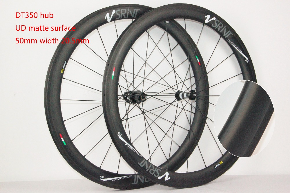 700c which spoke carbon wheels t700 V sprint carbon wheels 50mm carbon wheel with 20.5MM width D and T350hub
