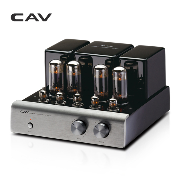 CAV T-5 Tube Amplifier High Quality Manufacturing Dac HIFI Amplifier Audio For Speakers 20W Channel 2.0 High Fidelity Power