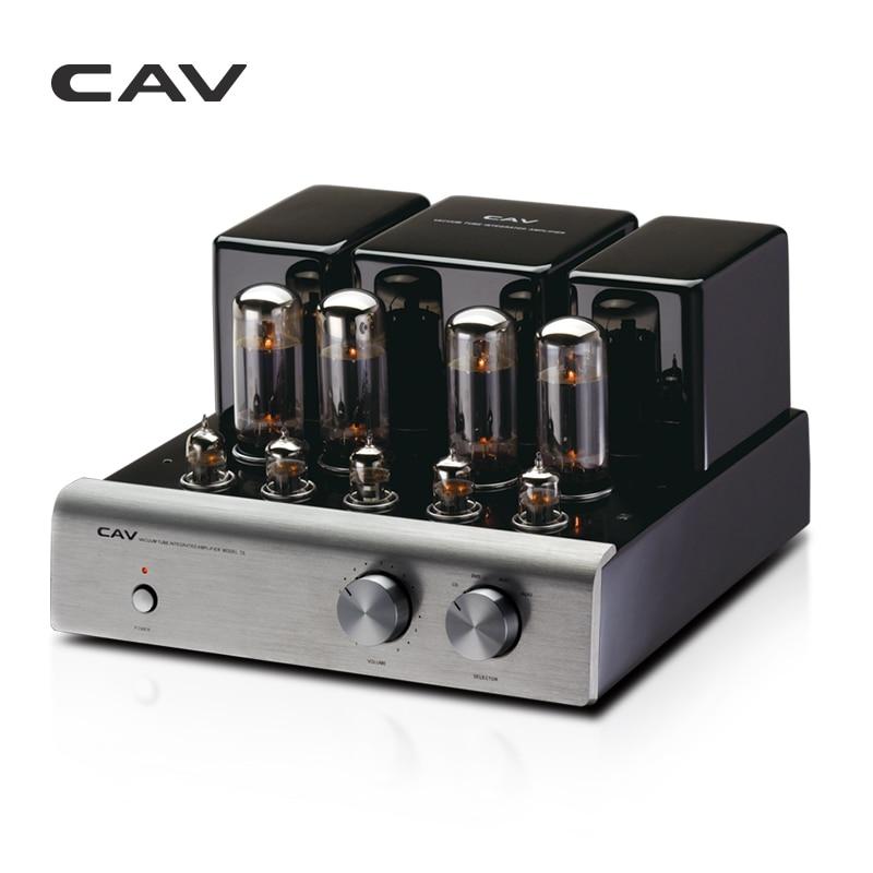 CAV T-5 трубки усилители домашние высокое качество производства ЦАП HIFI аудио для колонки 20 Вт канала 2,0 high Fidelity мощность