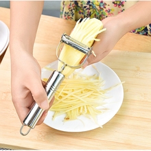 Dual Vegetable Peeler cheese butter grater Cutter Sharp Stainless Steel Fruit Potato apple Carrot Grater Planing Kitchen Tools