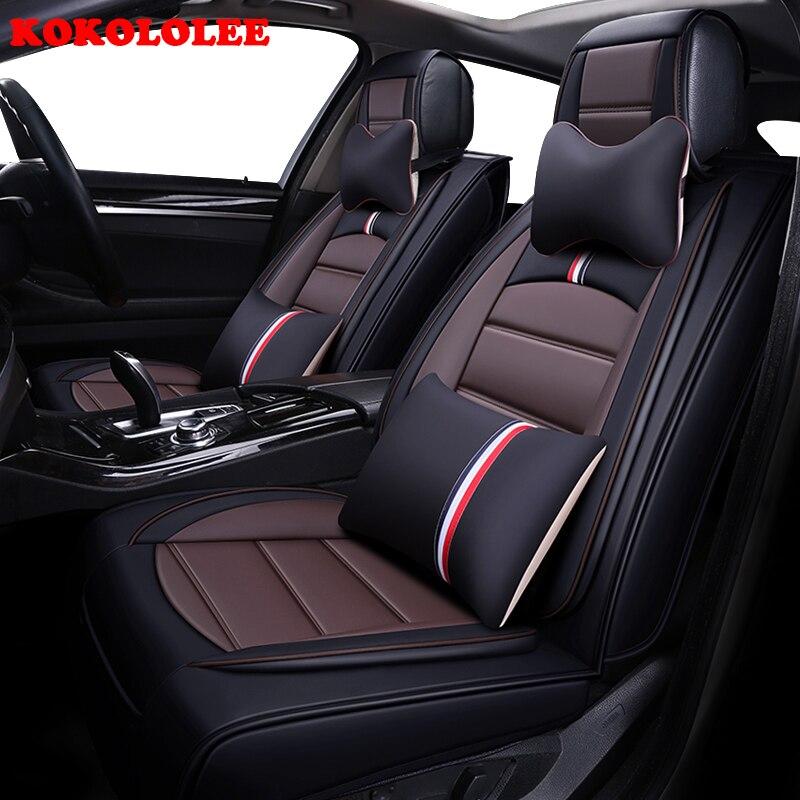 KOKOLOLEE siège de voiture couvre set Pour Mazda 6 CX-5 cx-3 CX-7 MAZDA 3 axela 626 accessoires de voiture sièges de voiture protecteur style