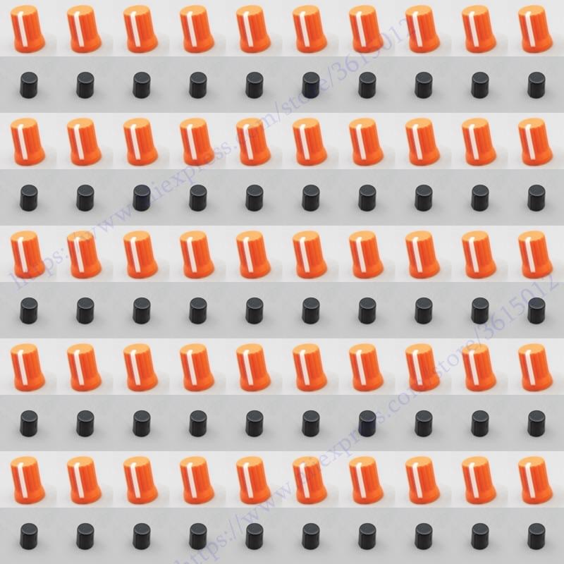 500X orange color OEM Rotary Control Knob For Pioneer DJM T1 S9 DIY DJ XDJ RX
