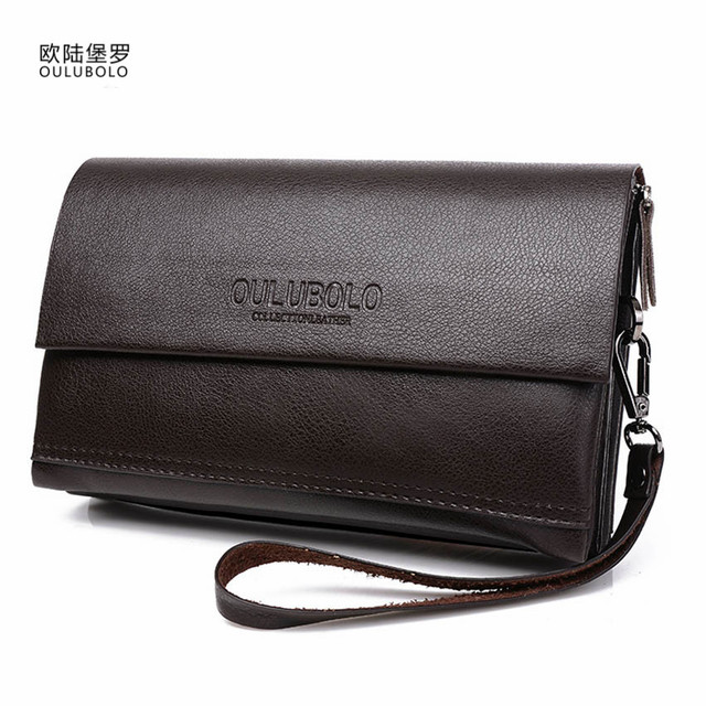 Famous Brand Wallets Men Purse Men's Wallets Leather Male Clutch Wallets Purse Men Clutch Bag Leather Men Handy