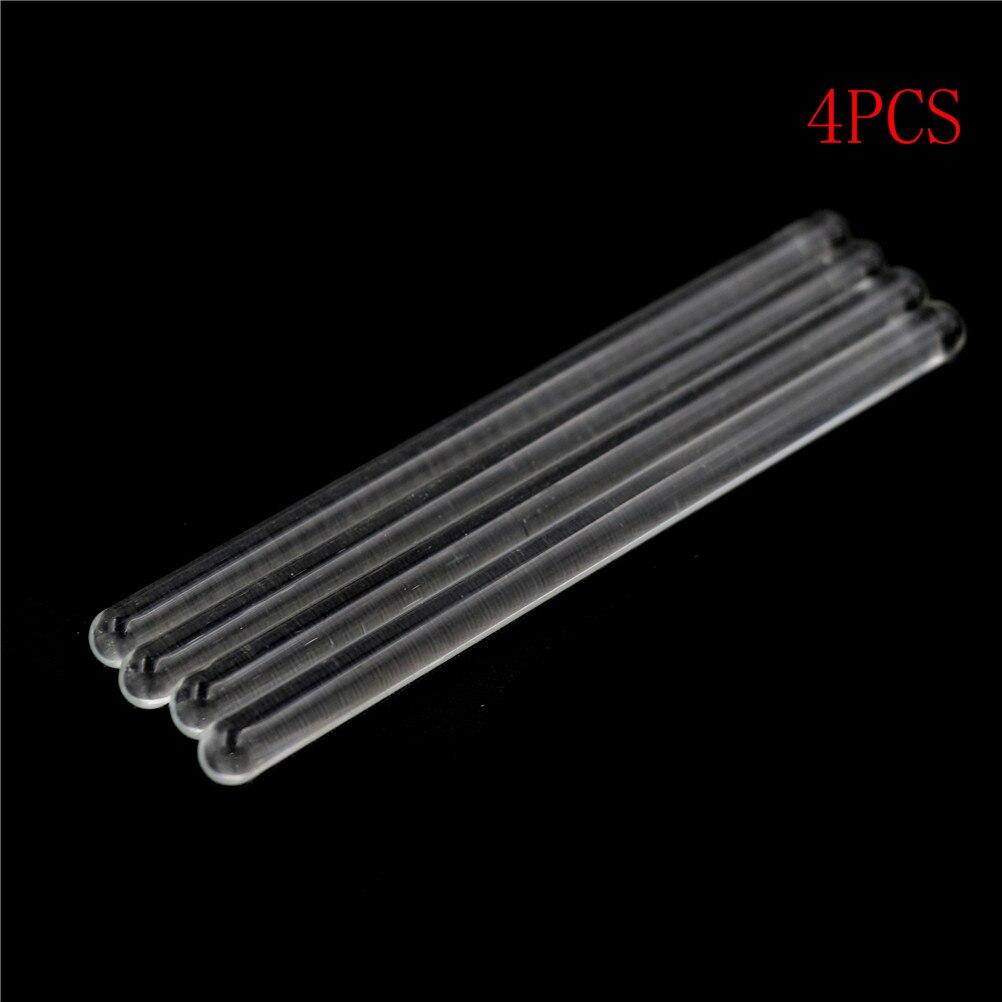 4Pcs Transparent Glass Stirring Rod Laboratory Tool Lab Supplies 6*100mm