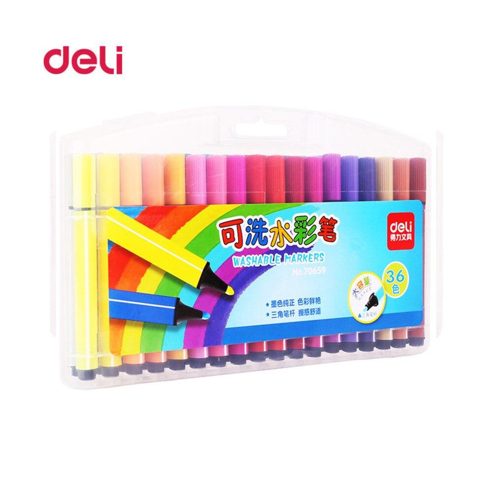 ZT 36 Pcs/Set water Color Pen Art Fine Professional painting pen Watercolor Pens Art Crayons Office Painting Supplies WJ-B G58 12 color nail art paint pens set 12 pcs