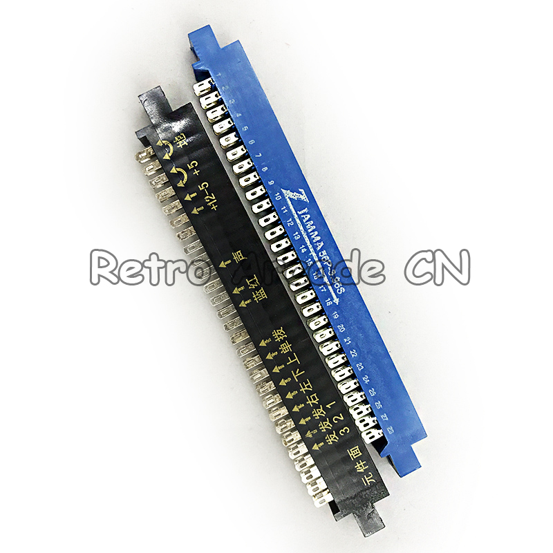 100PCs 28 PIN Jamma connector female Jamma connector for arcade game machines coin operated games PCB