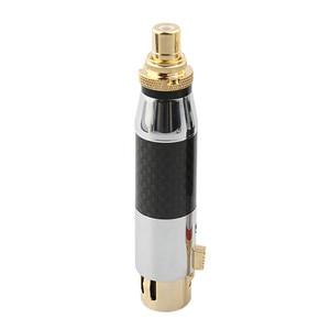 Image 5 - Высококачественный штекер RCA в XLR 3Pin, штекер XLR, штекер для самостоятельной сборки, штекер для аудио, штекер, адаптер для Dold Plated акустические шипы