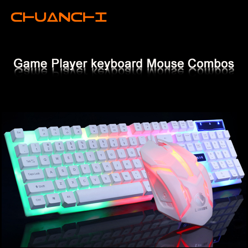 top 8 most popular leds white keyboard list and get free