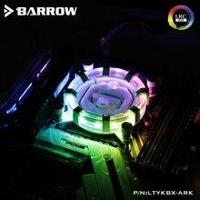 El arabası CPU su bloğu kullanımı INTEL LGA1150 1151 1155 1156/X99 2011/AMD AM3 AM4/radyatör 5V GND to 3PIN Hearder anakart