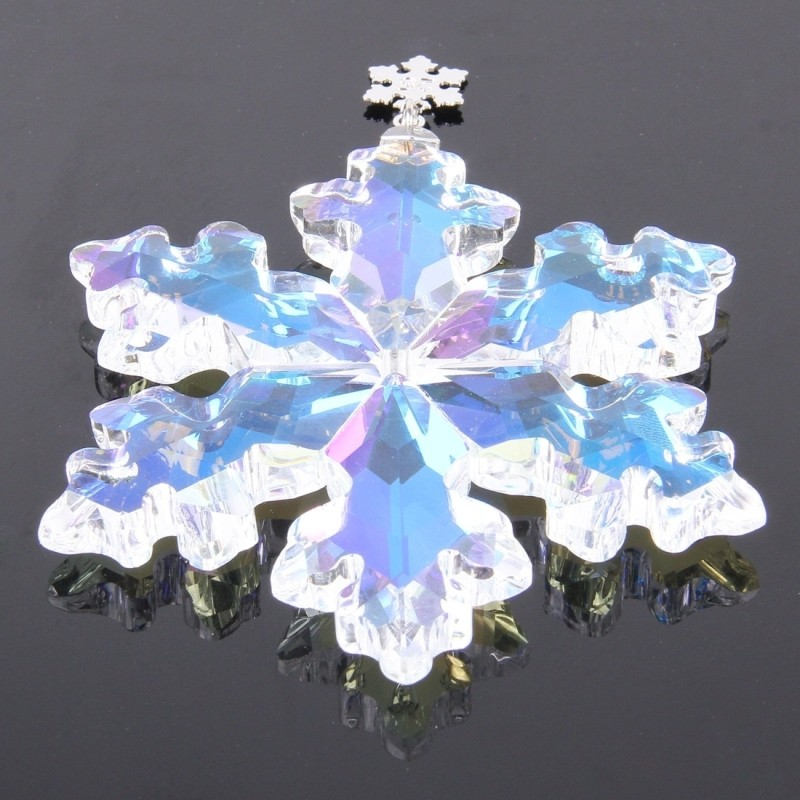 80mm 10pcs clear ab crystal snowflake shape crystal chandelier 80mm 10pcs clear ab crystal snowflake shape crystal chandelier pendantschristmas tree suncatcher hanging prisms free shipping in chandelier crystal from mozeypictures Choice Image