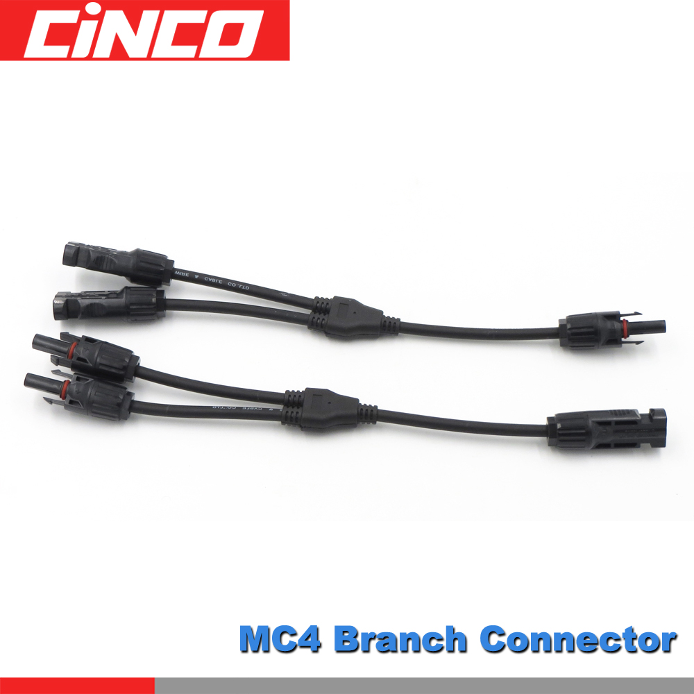 6mm² Twin Core Solar Power Cable PV Photovoltaic 5m with MC4 Connector