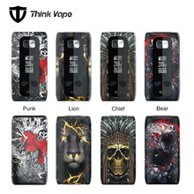 Hot sale !!! Think Vape Thor Pro 220W TC Box MOD VS Think Vape Thor 200W TC Box MOD with Attractive Patterns E-cig Vape Mod(China)