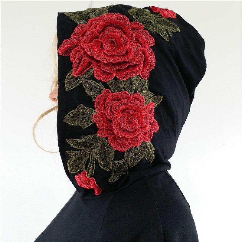 HTB11L8ARVXXXXXzaFXXq6xXFXXXQ - FREE SHIPPING Floral Black Women Sweatshirt Hoodie JKP221