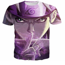 Naruto Anime 3D Print T-shirt in Various Models