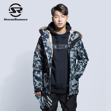 StormRunner winter jacket coat men ski jacket sport warm jacket for boy(China)