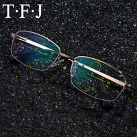 Half Frame Mens Progressieve Multifocale Leesbril Lunettes de Lezing Verziendheid Metalen Unbreakable Oude Bril Hars Lenzen