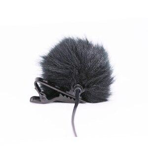 Image 1 - Fourrure artificielle pare brise pare brise coupe vent pour revers Lavalier Microphone Mic