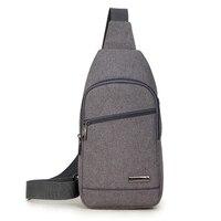 High Capacity Anti Wear Chest Bag Shoulder Backpacks For Men Sling Bag Casual Crossbody Bag For