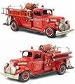 Новый США 1941 Chevrolet Пожарная Машина Винтаж Ручной Металл Артефакт Модель Автомобиля Игрушка Для Подарка/Коллекции/украшения