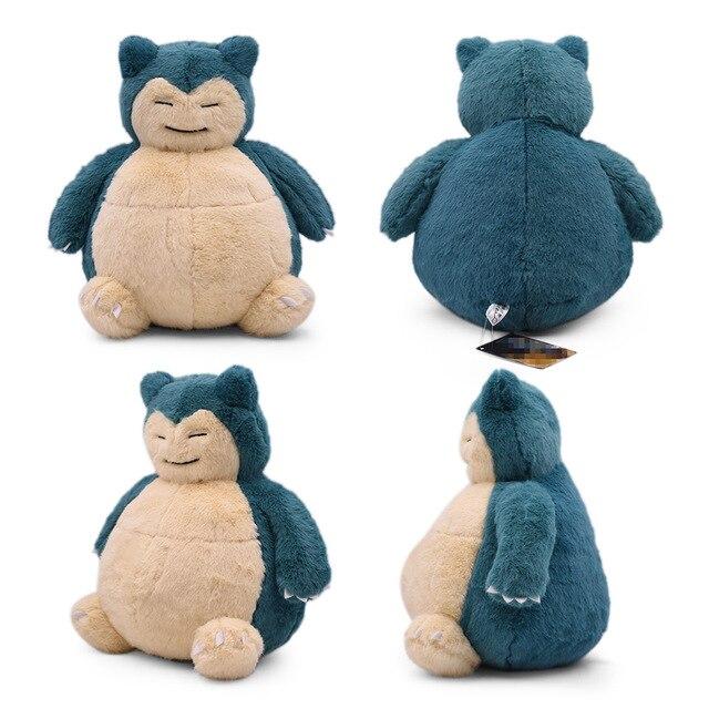 29-31cm 11.4-12.2 detektyw Snorlax pluszowe zabawki Anime wypchane pluszowe zabawki duże Snorlax poduszka zabawki miękkie Christmas Gift
