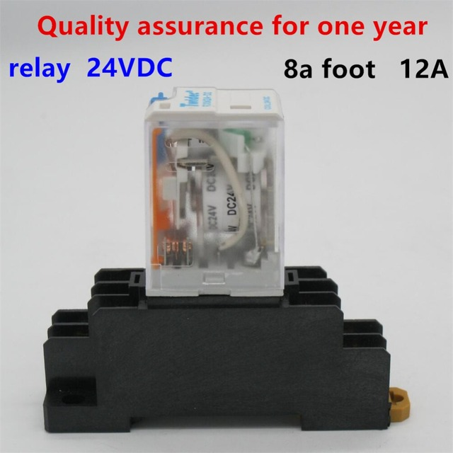 5pcs High quality Brand New D24VC 12A Coil Power Relay
