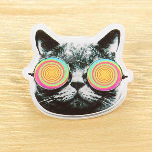 1 Buah/Banyak Jepang Harajuku Style Bros Acrylic Pin Lencana untuk Pakaian & Ransel Dekorasi Roget Kerah Syal Kerah Pin Broac
