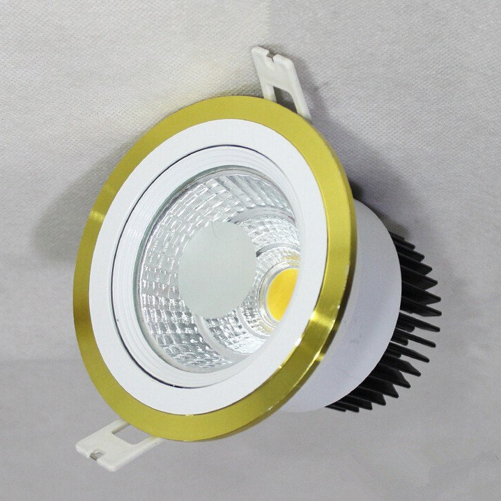 Dimmable 10w 12w Led Cob Downlights 120 Beam Angle Warm White Cool White Nature White 3 Years Warranty Home Indoor Lights Ce Moderate Cost Lights & Lighting