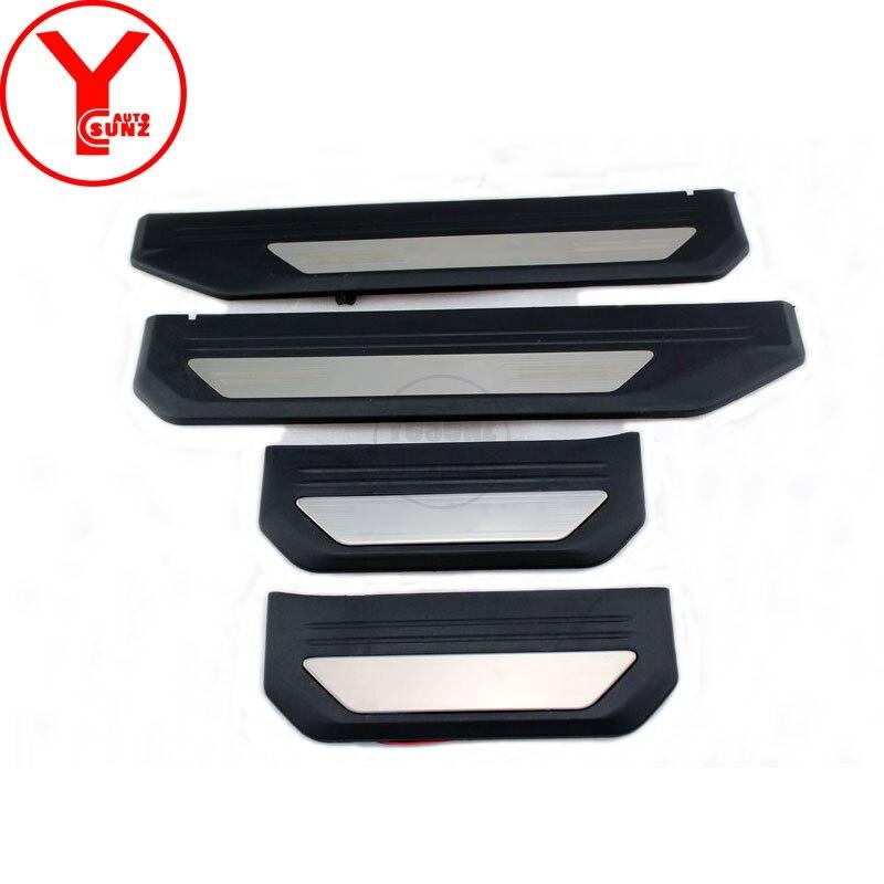 Scuff Plate Sill Door 4 PCS For Chevrolet Trailblazer 2012-2014