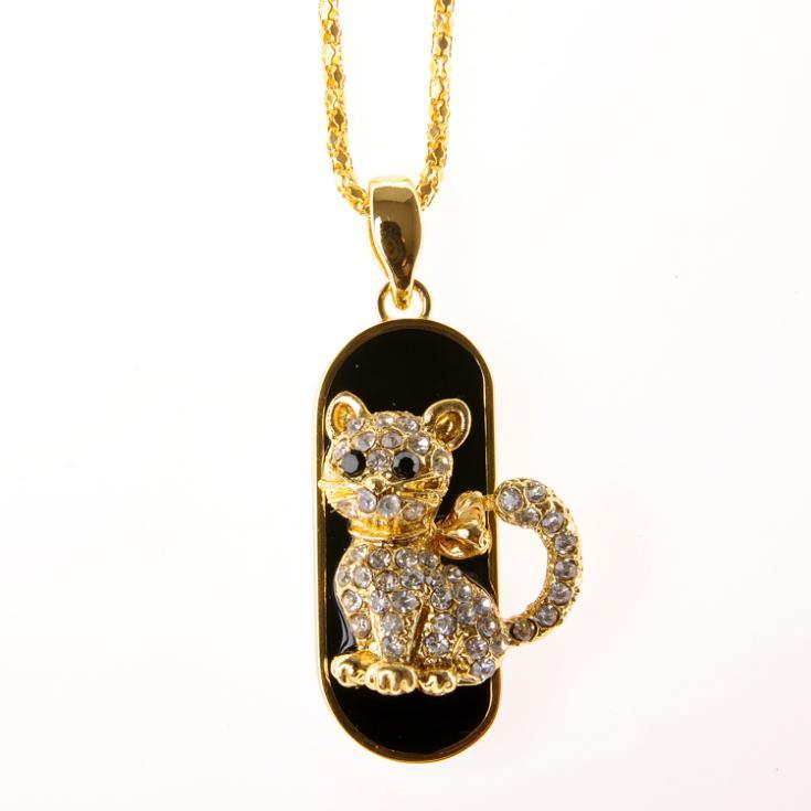 TRUE100% Flash USB Memory Stick Best Selling Jewelry Animal Cat Usb Flash Drive 128gb 16gb Pendrive 32gb 64gb Pen Drive 1TB 2TB
