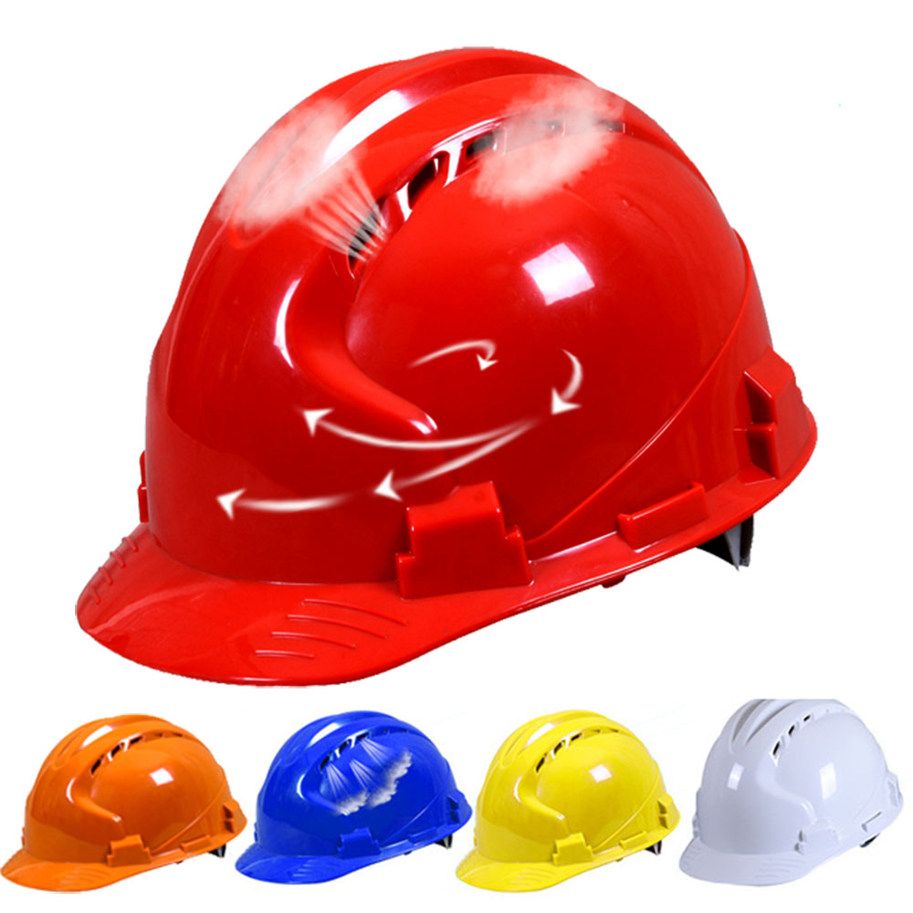 Safety Helmet High Quality Breathable Engineering Power Labor Helmet Hard Hat Work Cap ABS Material Construction Protect Helmets цена