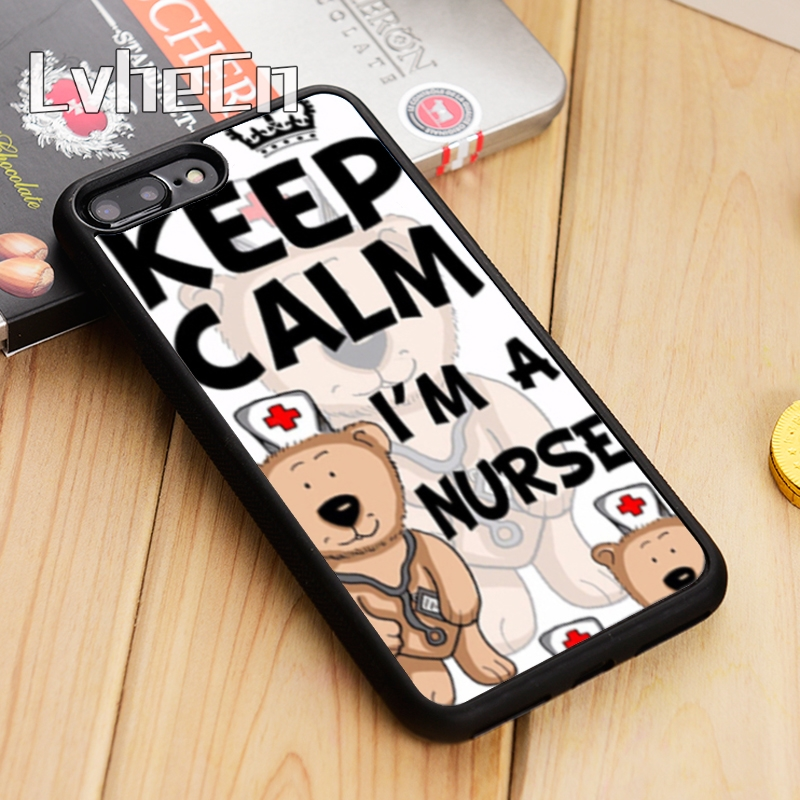 Sweet-Tempered Lvhecn Chef Bride Keep Calm I M Doctor Nurse Phone Case Cover For Iphone 5 5s Se 5c 6 6s 7 8 10 X Samsung S6 S7 Edge S8 S9 Plus Sale Price Cellphones & Telecommunications