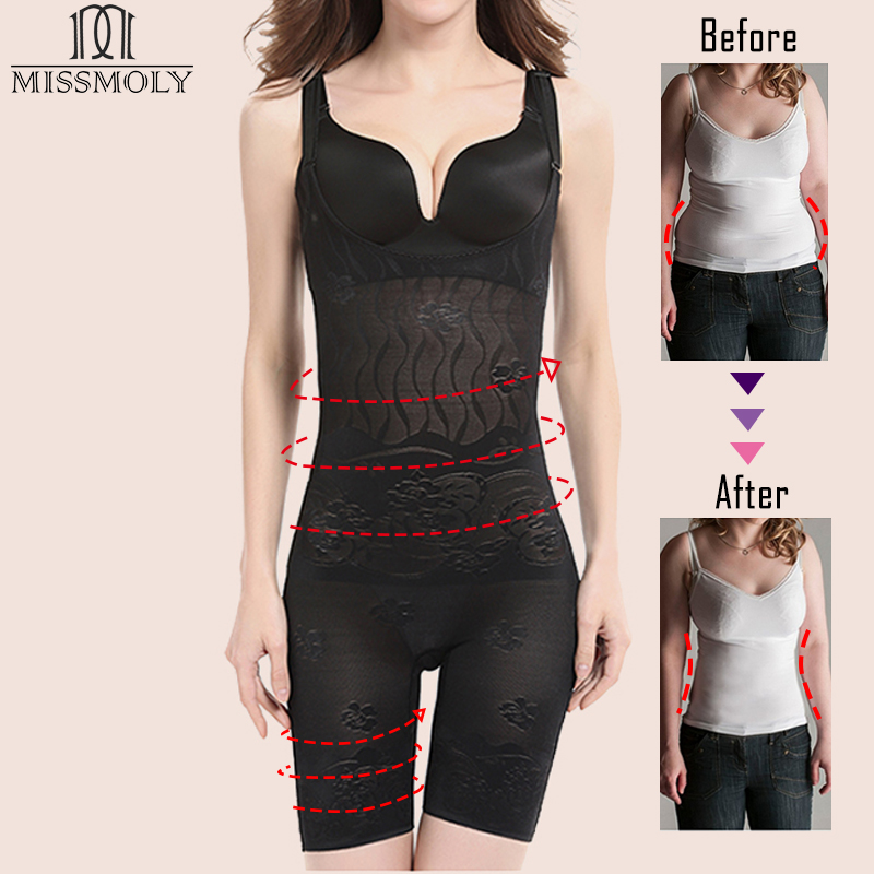Full body shapewear for plus size for bodycon dress