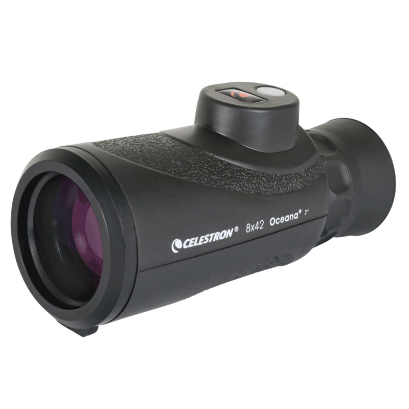 Celestron Oceana 8x42 Monocular Built - in compass ranging Fully Multi-Coated single barrelCelestron Oceana 8x42 Monocular Built - in compass ranging Fully Multi-Coated single barrel