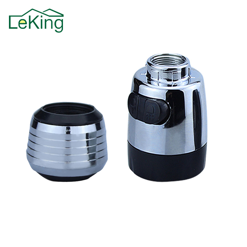 Kitchen Tap Water Saving Nozzle Bathroom Water Saving Faucet Filter Areator Bubble Swivel Head Saving Tap Spray Adapter