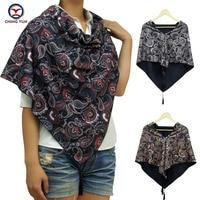 2017 hot sale big triangle style floral fashion women winter warm Scarf scarves tassel Women Wraps ladies shawls free shipping