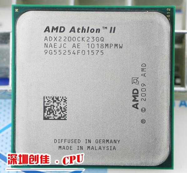 CPU AMD Athlon II X2 220 CPU 2.8 GHz socket AM2 +/AM3 938PIN dual-core 65 W procesador pedazos scrattered