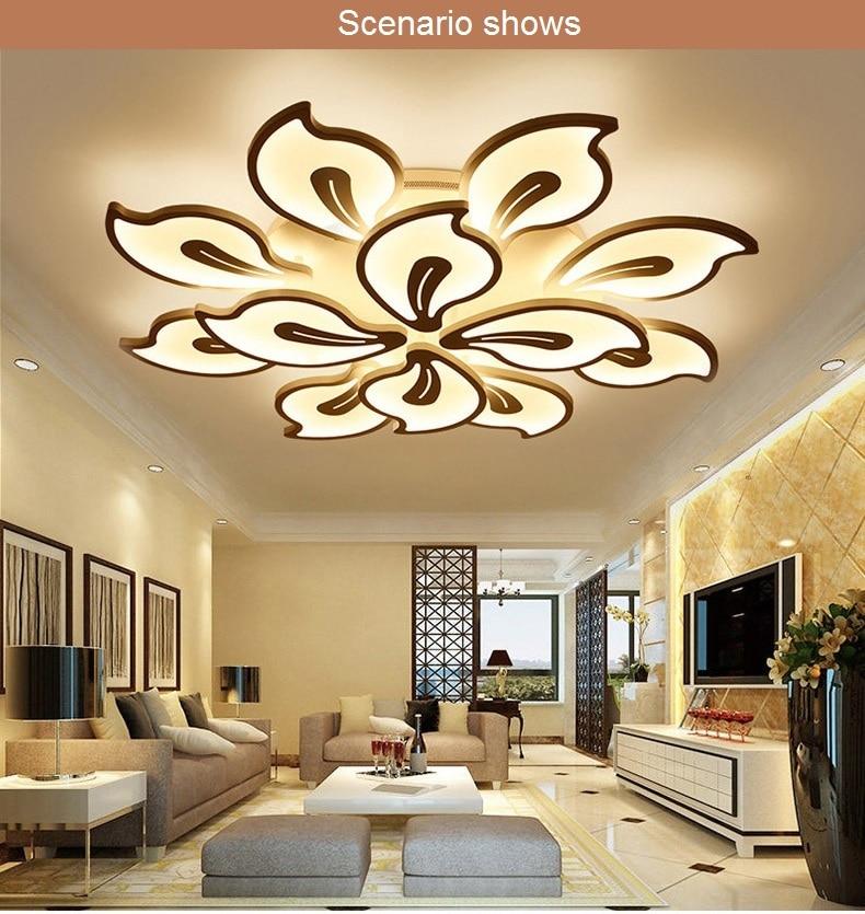Lights & Lighting Ceiling Lights Ceiling Lamp For Bedroom Consumers First Led Modern Iron Acryl Crystal 9cm White Flower Led Lamp.led Light.ceiling Lights.led Ceiling Light