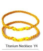 Заказное Силиконовое твист титановое Спортивное ожерелье