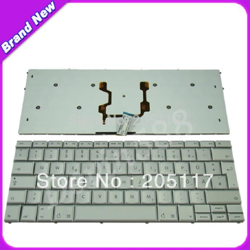 LAPTOP  German Keyboard For Apple MacBook Pro 17 A1261 GR Deutsch Silver,100% NEW !