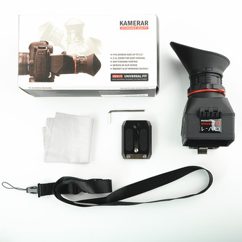 KAMERAR QV-1 LCD Viewfinder For 3-3.2 CANON Nikon Sony Olympus DSLR Cameras image