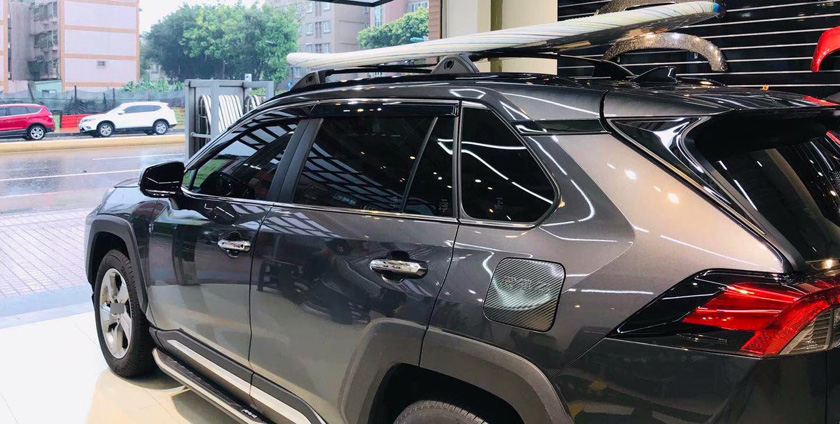 thicken transversal roof rack roof rail bar cross bar for toyota rav4 2019 2020 real slap up quality made in famous big factory