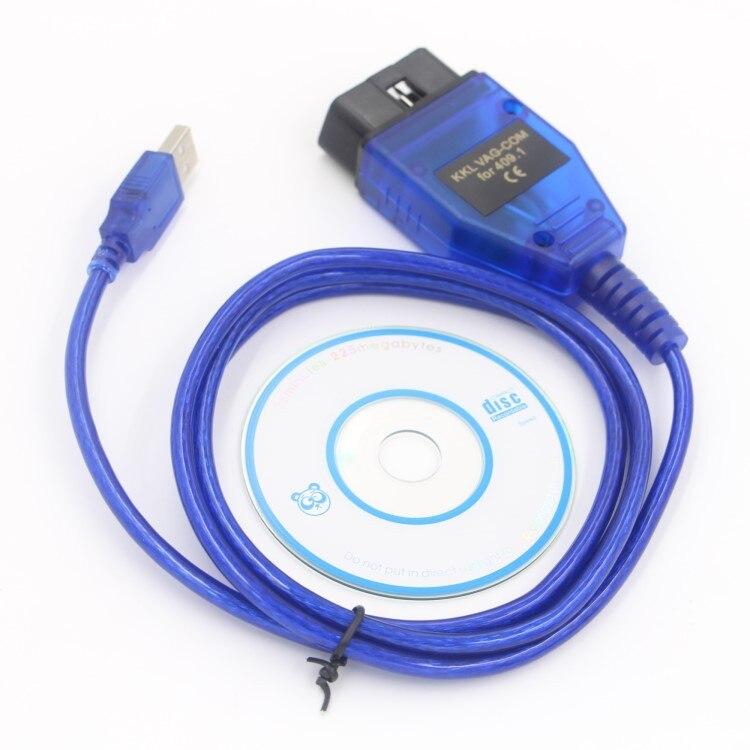 VAG-COM 409,1 Vag Com 409,1 KKL OBD2 USB Kabel Scanner Scan-Tool Interface Für Audi für VW für SITZ für volkswagen