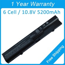 6 cell Аккумулятор для ноутбука HP Compaq 420 421 425 620 HSTNN-W80C HSTNN-W79C HSTNN-W79C-5 593573-001 аккумулятор большой емкости HSTNN-Q81C