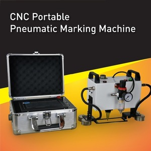 China High Quality Cost Effective CNC Portable Dot Peen Marking Machine,Integrated portable marking solution,easy to operate