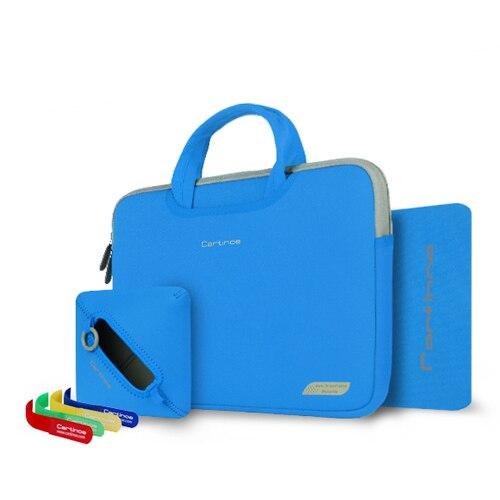 Cartnoe Brand 4 in 1 Suit Handbag 11 13 15 inch Laptop Bag Sleeve Case For MacBook Air 11.6 12 13.3 15.4 Pro Retina Notebook Bag