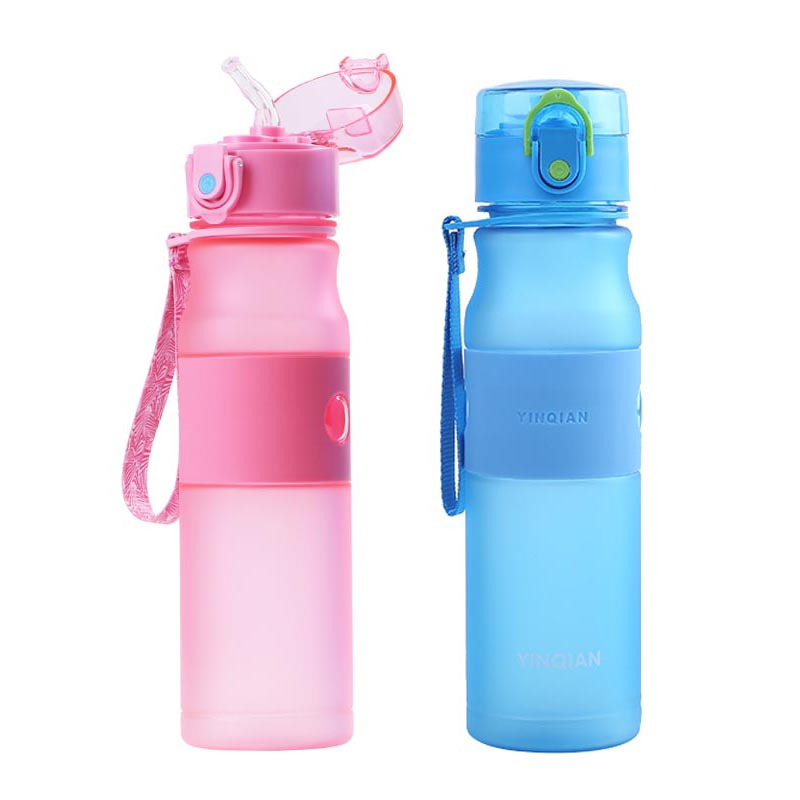 320ML Plastic <font><b>Baby</b></font> Feeding Cup With Straw for Kids Leak-<font><b>poof</b></font> Learn Drinking Water Bottle Feeding Bottle Milk Cup BPA Free image